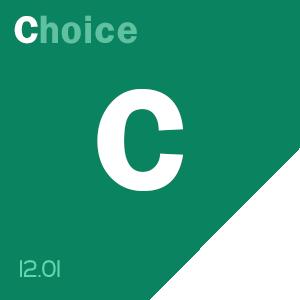 SCOTOMAVILLE content score badge: C-hoice