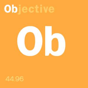 SCOTOMAVILLE content score badge: Ob-jective