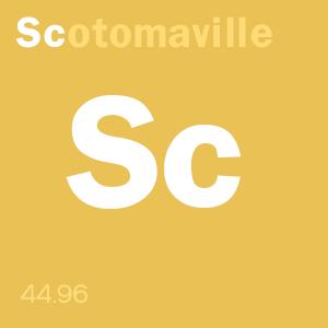 SCOTOMAVILLE content score badge: Sc-otoma