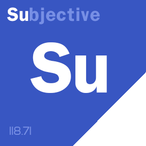 SCOTOMAVILLE content score badge: Su-bjective